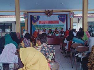 Musrenbangkec Kecamatan bantarbolang. Rabu 29/1/2020. (Doc Foto: Te Tuko)
